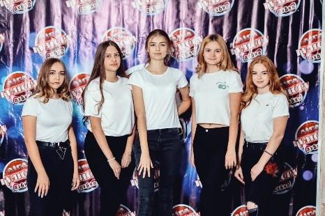 """студентська команда """"ДНК"""" - учасники фіналу Ліги Гумору 2019, м. Дубно"""